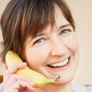 mit banane telefonieren